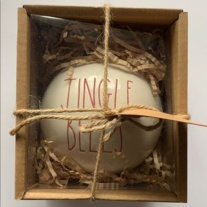 "Rae Dunn ""Jingle Bells"" ornament"